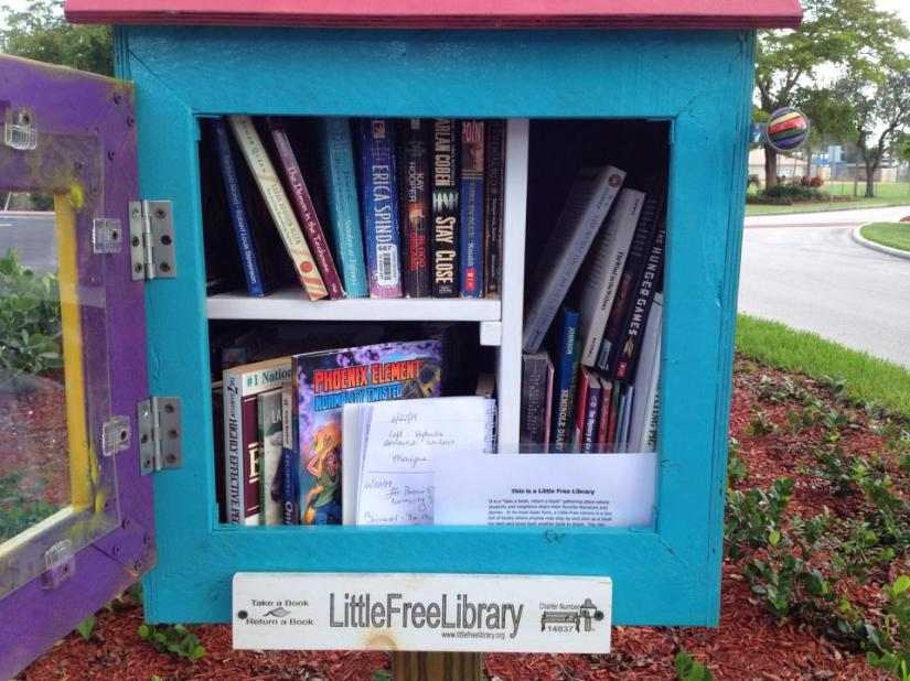 Discover a New Book at the Little FreeLibrary