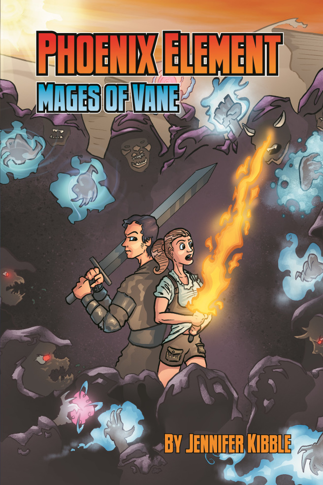 Phoenix Element: Mages of Vane front cover by Eric White.
