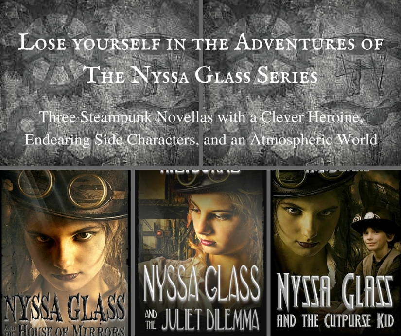 Author H. L. Burke Talks About the Nyssa Glass Series